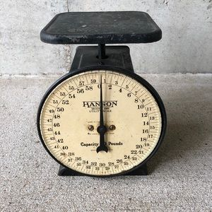Vintage farmhouse scale